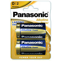 Батарейка PANASONIC D LR20 Alkaline Power * 2 (LR20REB/2BP), фото 1