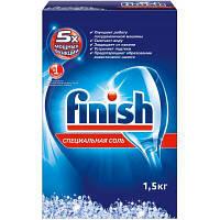 Средство для мытья посуды Finish соль для посудомоечных машин 1,5 кг (8594002682736)