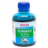 Чернила WWM HP №177 85 Light Cyan (H77/LC)