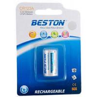 Акумулятор BESTON CR123A (16340) 600mAh Lithium (AAB1844)