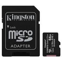Карта памяти Kingston 64GB micSDXC class 10 A1 Canvas Select Plus (SDCS2/64GB) N1.IN.UA, фото 1