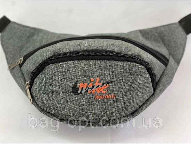 Сумка бананка через плече Nike ( 13x31 см)