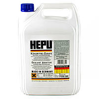 Антифриз HEPU G11 синий упаковка 5л P999 (Германия) концентрат 1:1