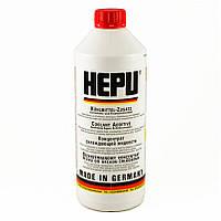 Антифриз HEPU G12 G12+ красный упаковка 1л P999-G12 (Германия) концентрат 1:1