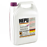 Антифриз HEPU G12, G12+ фиолетовый 5л P999-G12PLUS (Германия) концентрат 1:1