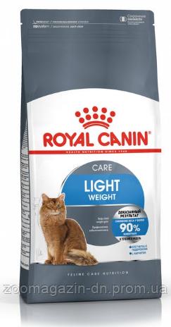 Royal Canin Light Weight Care  для поддержание идеального веса вашей кошки 0,4 кг