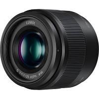 Объектив PANASONIC Micro 4/3 Lens 25mm F/1.7 (H-H025ME-K)