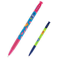 K20-363-01 Ручка шариковая автоматическая KITE 2020 Jolliers 363-01, синяя, фото 1