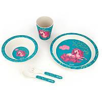 Набір посуду з бамбука KITE 2020 Lovely Sophie 313-1, 5 предметів