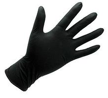 Перчатки Нитриловые 100 шт. (Черные) ХL (50пар)
