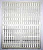 Разделительная решетка на 10 рамок 500х415 мм, первичный пластик (Турция)