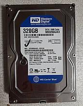 Жесткий диск HDD 3.5 320GB WD WD3200AAKX 16M 7200 об/мин SATA III