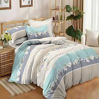 Двуспальный комплект постельного белья 180*220 сатин (14662) TM КРИСПОЛ Украина