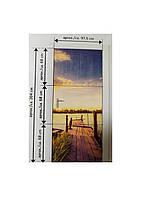 """Декоративная наклейка """"Причал"""" Melinera 204х97,5см Разноцветный"""