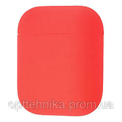 Silicone Case Ultra Slim for AirPods red