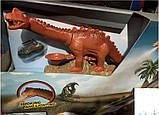 """Детский Автотрек """"Динозавр"""" с металлическими машинами, фото 3"""
