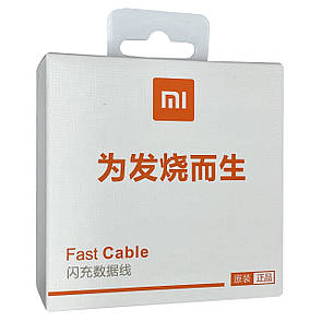 Кабель Xiaomi 3A / 1m Type-c to USB (MDY-08-ES) (white)