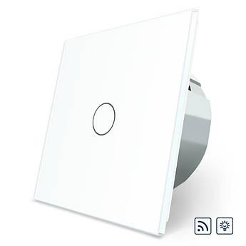 Сенсорный радиоуправляемый диммер Livolo белый стекло (VL-C701DR-11)