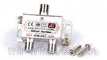 Сплиттер 2-WAY Splitter EUROSKY с проходом питания