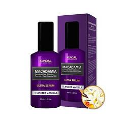 """Сыворотка для волос """"Янтарная ваниль"""" Kundal Macadamia Amber Vanilla Ultra Serum"""