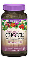 Женские Мультивитамины 50+, Ageless Choice, Bluebonnet Nutrition, 90 капсул