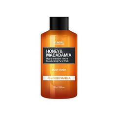 "Гель для душа ""Янтарная ваниль"" Kundal Honey & Macadamia Amber Vanilla Body Wash"