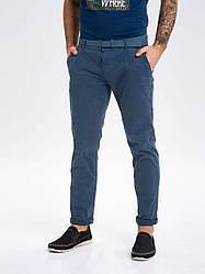 Мужские синие брюки чинос Volcano R-Terry