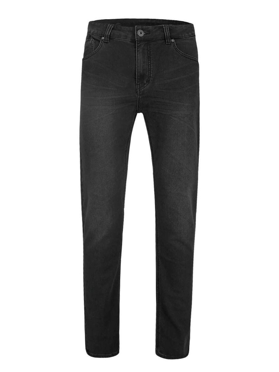 Мужские прямые джинсы с графитом и низкими карманами D-LEON 24