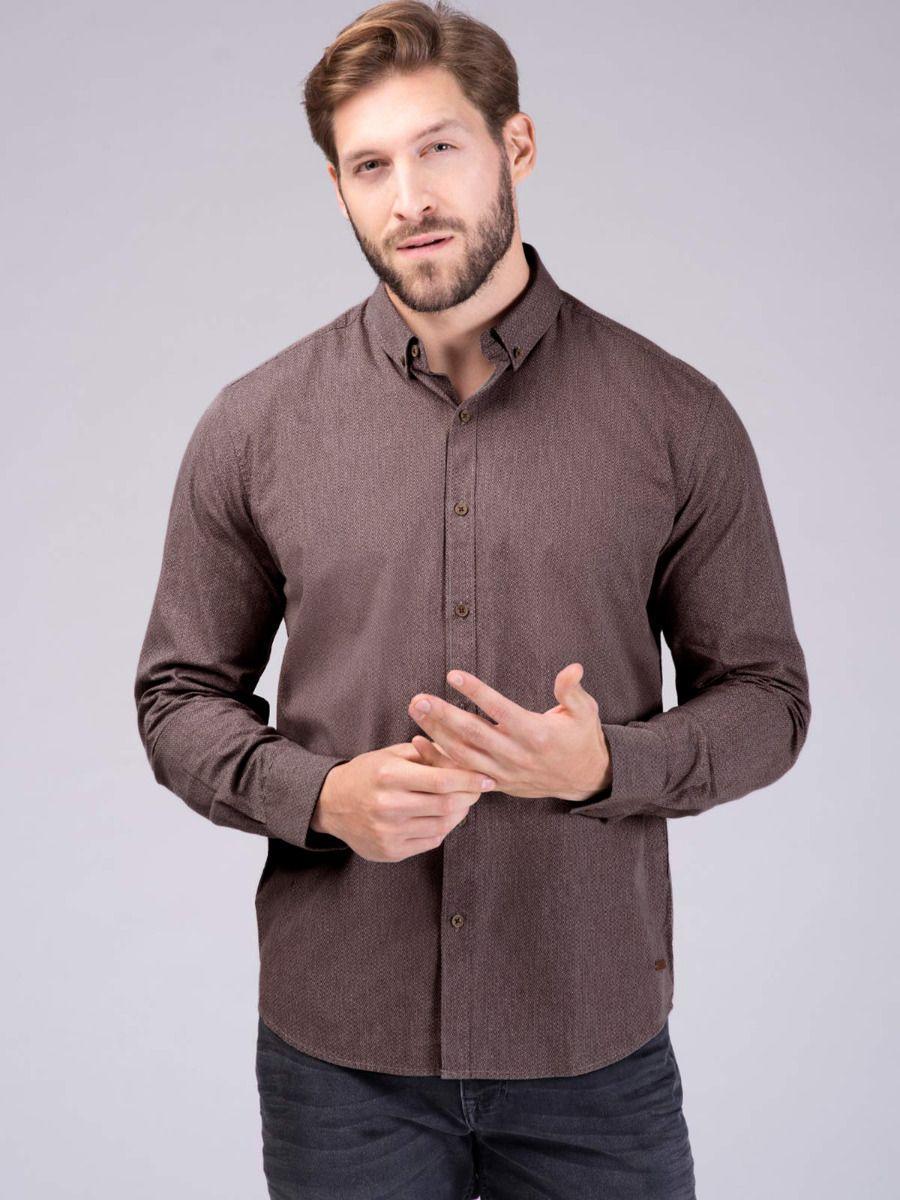 Мужская рубашка Volcano K-Ejlot M09038-435