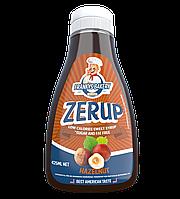 Низкокалорийный сироп (low calories syrup Zerup) 425 мл со вкусом фундука