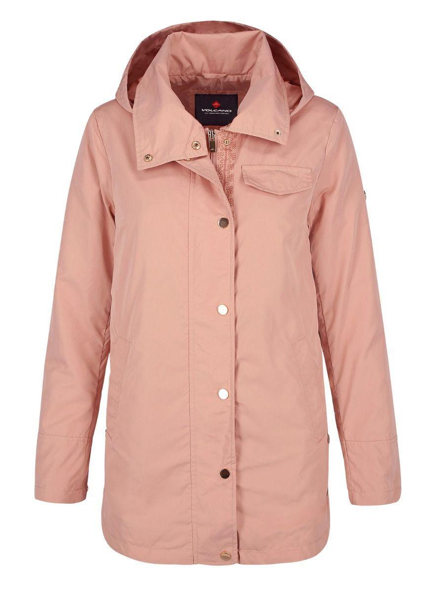 Переходная куртка с капюшоном и боковыми защелками J-CELIN