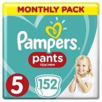 Подгузник Pampers трусики Pants Junior Размер 5 (12-17 кг), 152 шт (8001090808004)