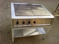 Плита электрическая ПЭ-4 (с/без духовки)