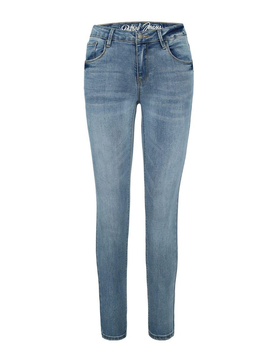 Синие джинсы с регулярной талией D - STEFFY 8
