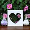 """Набор для свадебной песочной церемонии: Рамка """"Сердце"""""""