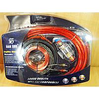 Комплект проводов для сабвуфера SX4G Красный/Черный
