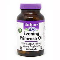Масло Примулы Вечерней 1300 мг, Bluebonnet Nutrition, 60 желатиновых капсул