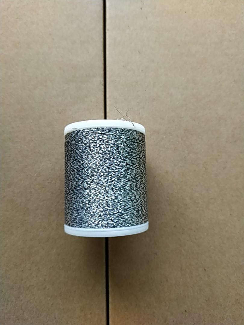 Нитки для машинной вышивки   Madeira   Super Twist  №30.  цвет 44 (  ТИТАН ).  1000 м