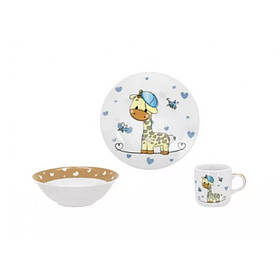 Детский набор столовой посуды из 3 предметов Limited Edition G-Boy C-517