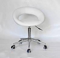 Кресло офисное Onder Mebli Holy Modern Office ЭкоКожа Белый