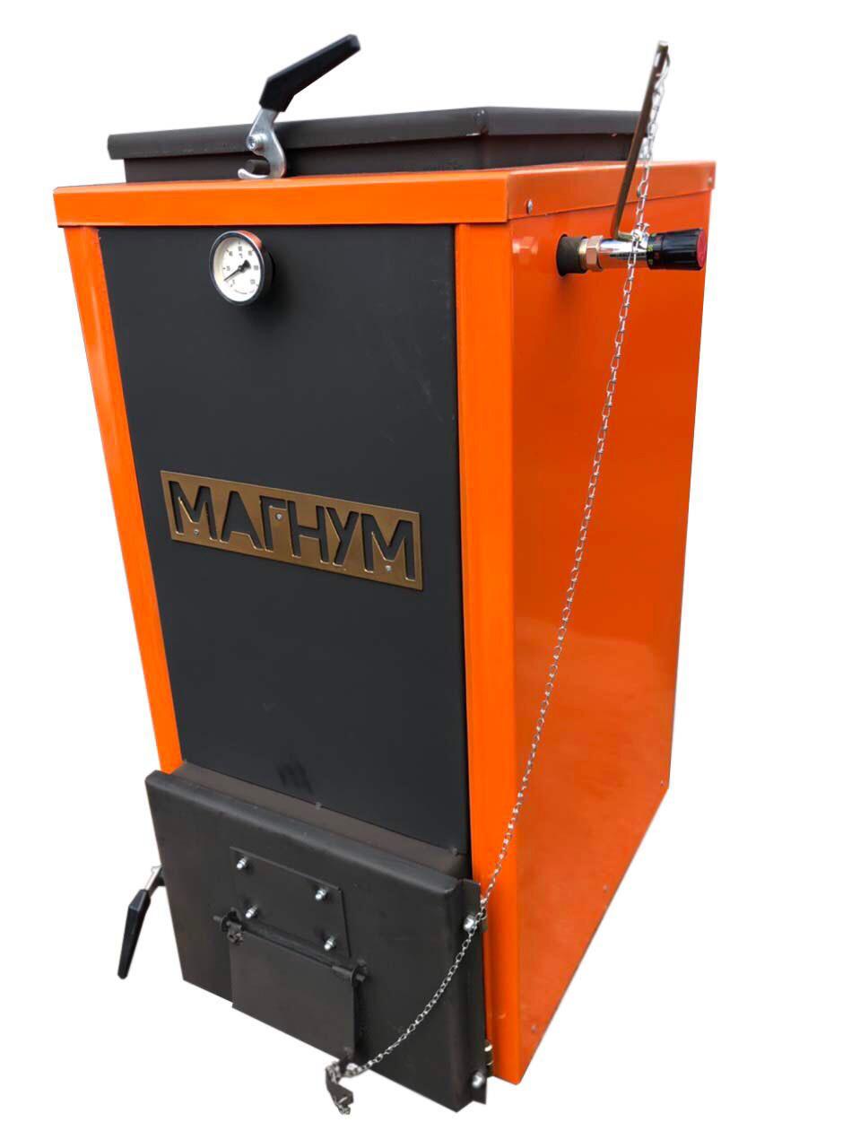 """Шахтний котел Холмова """"Магнум+"""" - 12 кВт. Тривалого горіння!"""
