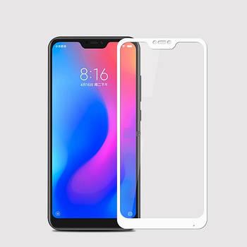 Защитное цветное стекло Mocolo (full glue) на весь экран для Xiaomi Mi A2 Lite / Xiaomi Redmi 6 Pro