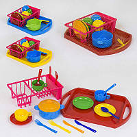 Набор посуды Bamsic, Юная хозяюшка SKL11-182007