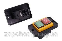 Кнопка для бетономішалки DZ-6-2 з рамкою 88*56 5 контактів