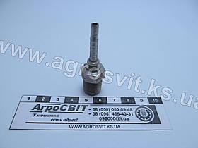 """Штуцер AGR-K 1/4""""-19  (под шланг dу=05 мм.)"""
