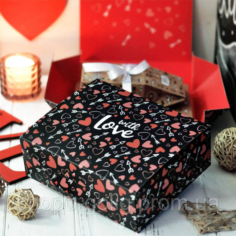 """Подарунковий набір """"Коханому чоловікові"""" 2в1 150г  (Сувенірний шоколад і Чай)"""
