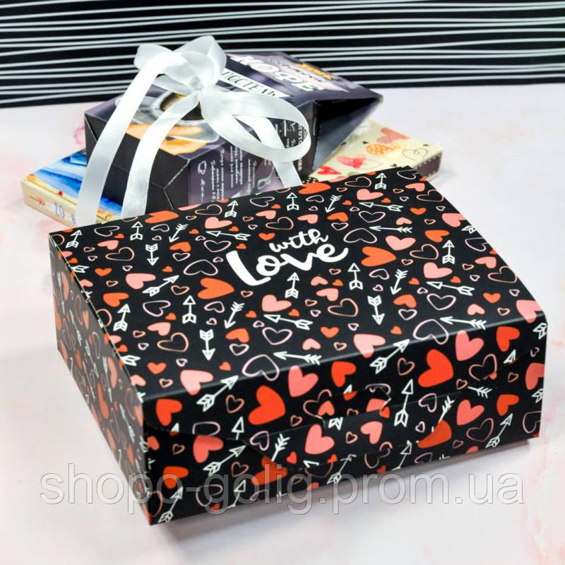"""Подарунковий набір """"Мужу в постель"""" 2в1 150г  (Сувенірний шоколад і Кава)"""