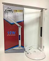 Настольная LED лампа 10W (Белый) с Беспроводной зарядкой Novelty Right Hausen (HN-245221)