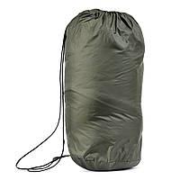Спальный мешок - одеяло (Спальник) 210х70см Походный Весна/Лето Зеленый