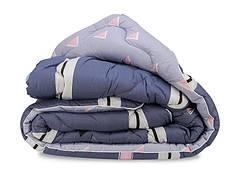 Одеяло Leleka-textile Вовняна Евро 200*220 см сатин/овечья шерсть облегченное С53/54